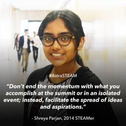 Shreya Parjan 14'