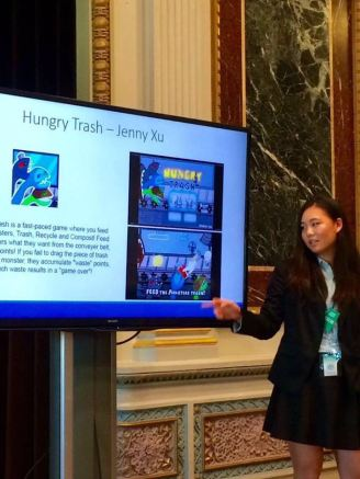 Jenny Xu At the White House